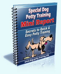 The solution to your dog potty training problems for Dog potty training problems